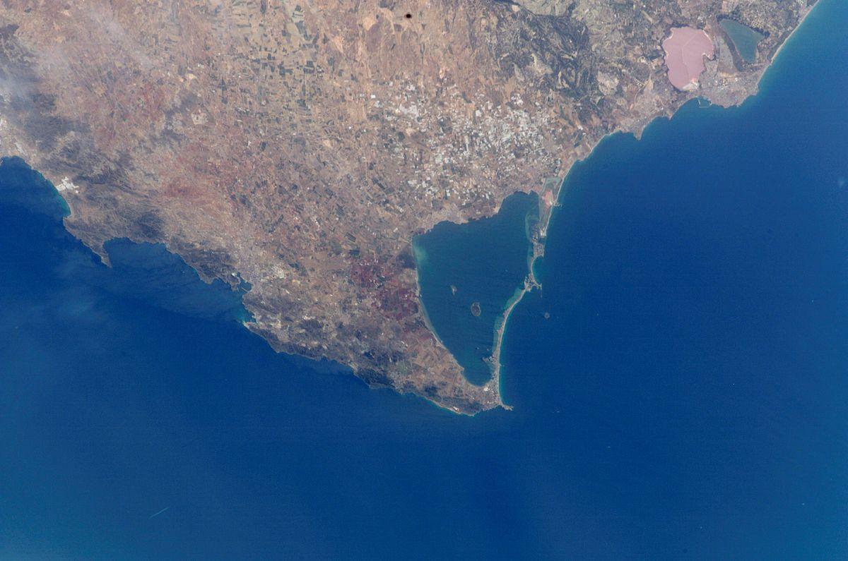 1200pxCartagena Mar Menor i Cap de Pals foto satllit