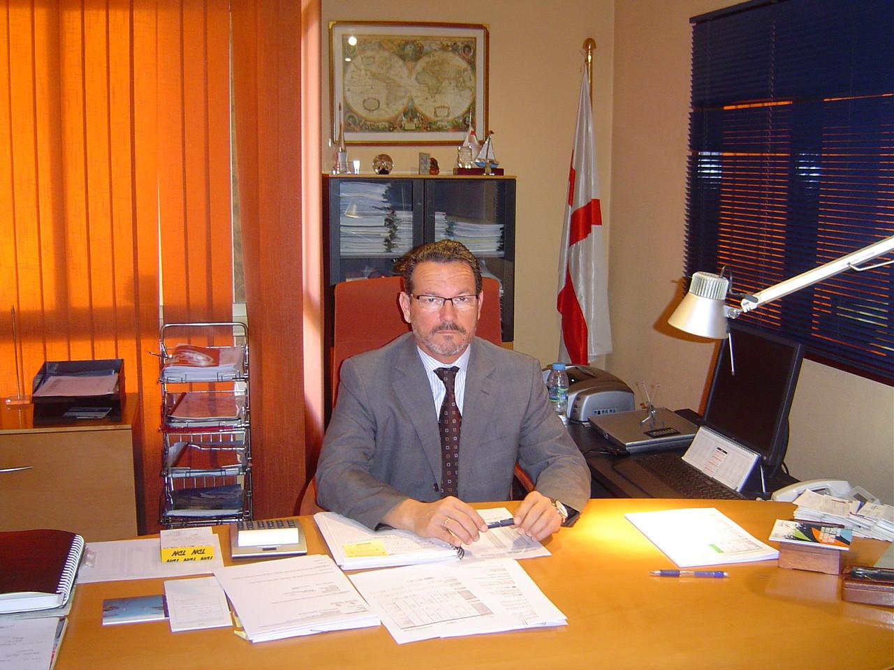BoludaFelipeLpezPellsdelegadodeBoludaLinesenAlicantePresidenteAsocConsig.Alicante