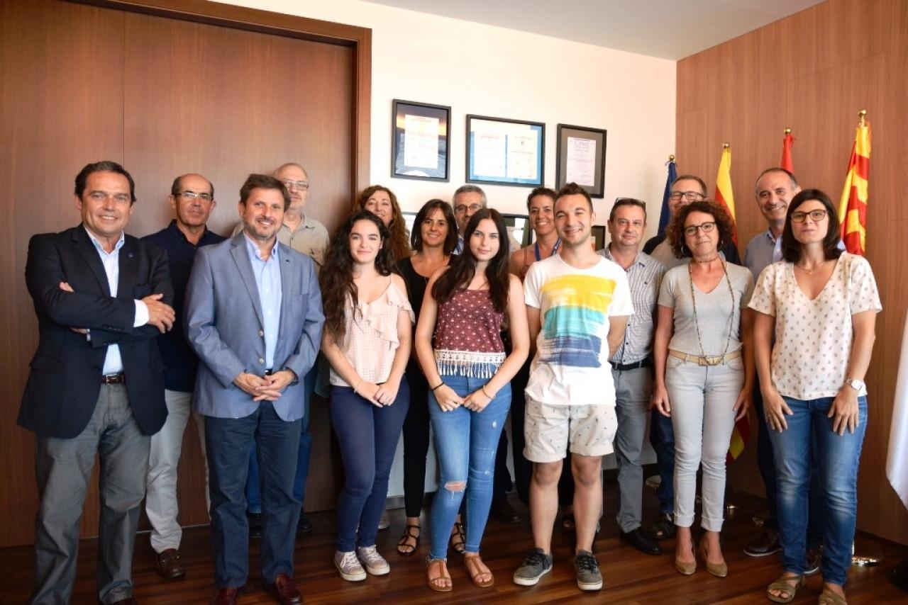 El Port De Tarragona Reconoce La Tarea De Los Alumnos En