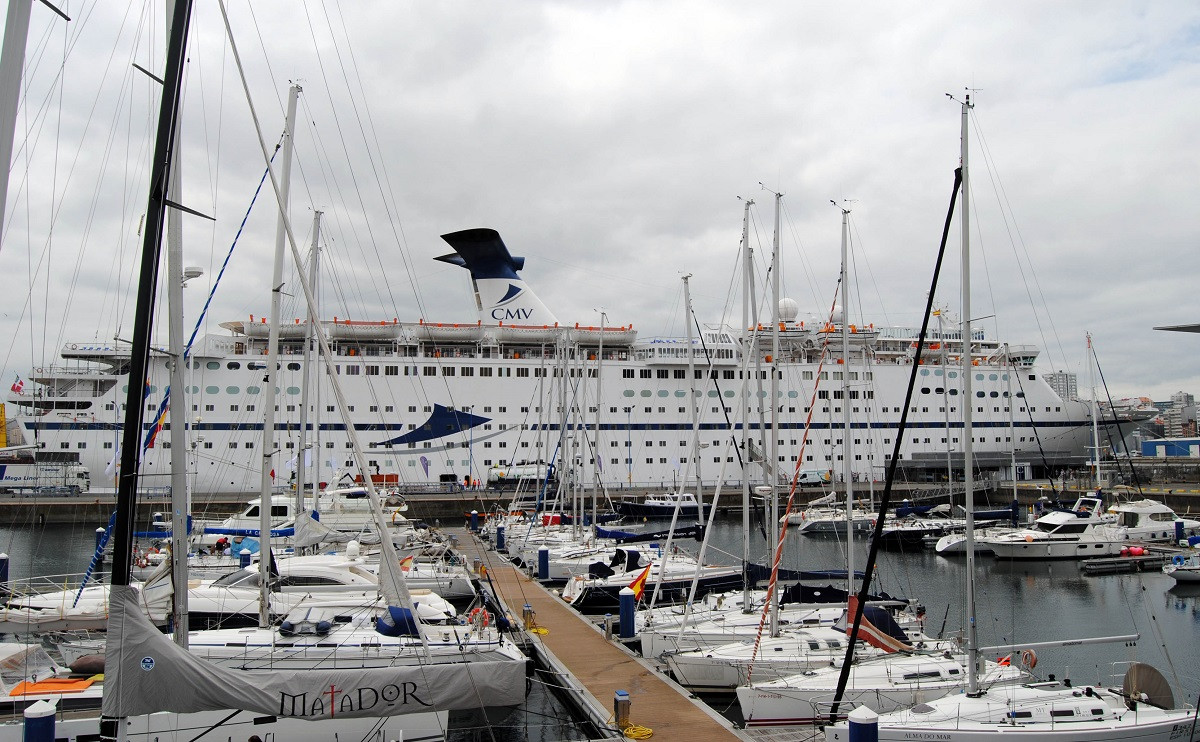 PuertodeACoruaCruceros 1