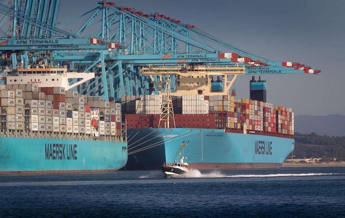 PuertodeAlgecirasMoscowMaersk2ndgenerationmegaships