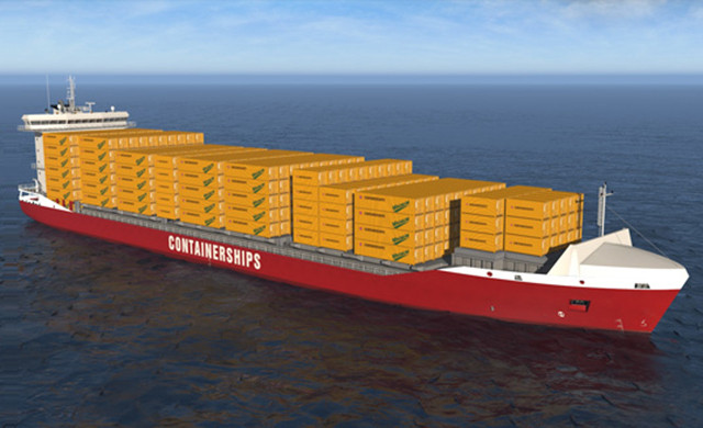 Containership GNL
