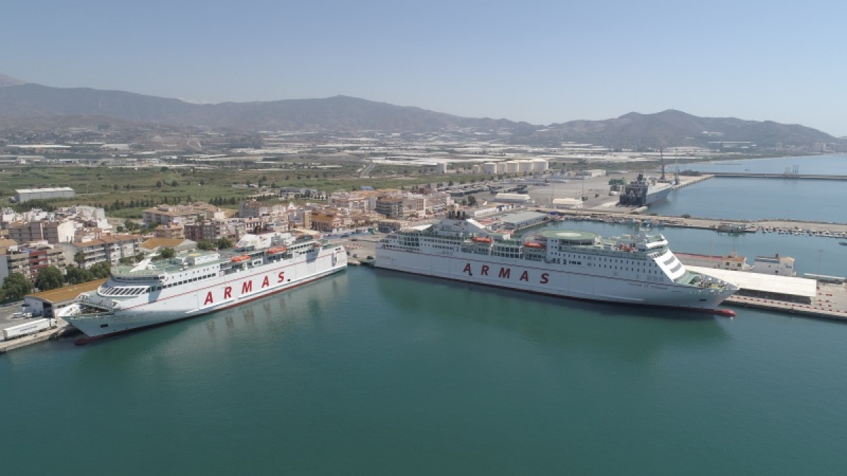 Motril naviera armas modifica horario ferry puerto motril puente mayo