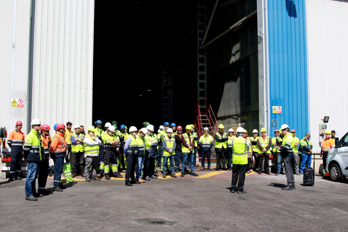 APM Global Safety Day meeting Maintenance area