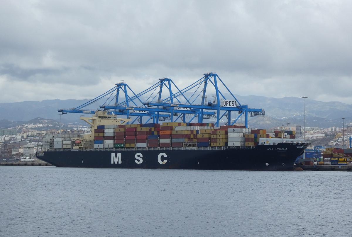Puerto de Las Palmas   Opcsa   Descarga