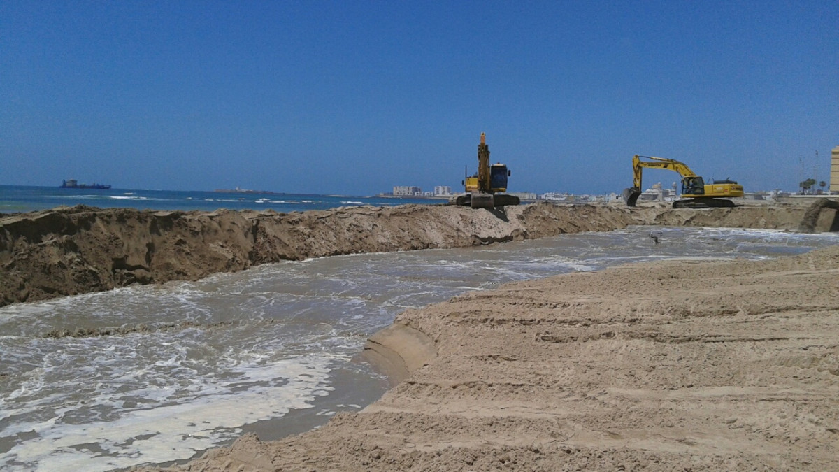 Playas   obras