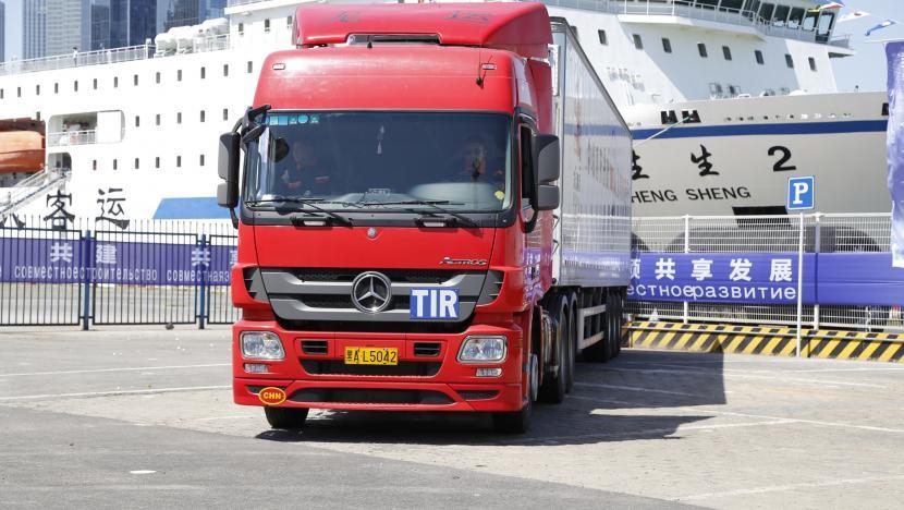 TIR   China Rusia