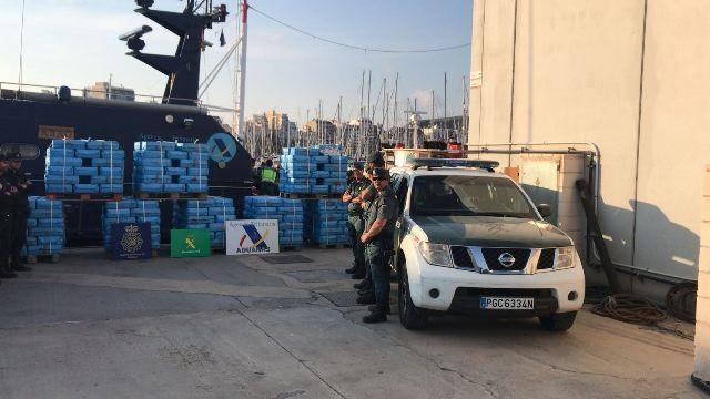 Pesquero   droga   Cabo de Palos