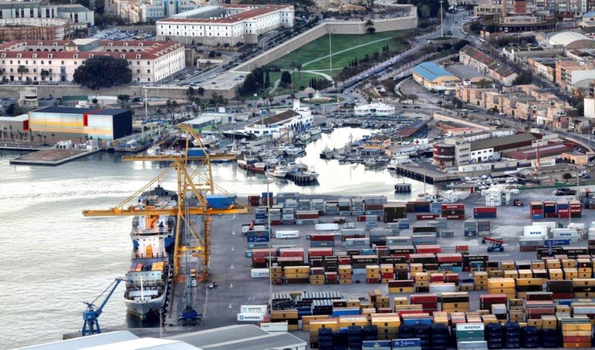 Puerto de Cartagena   panoramica   may18