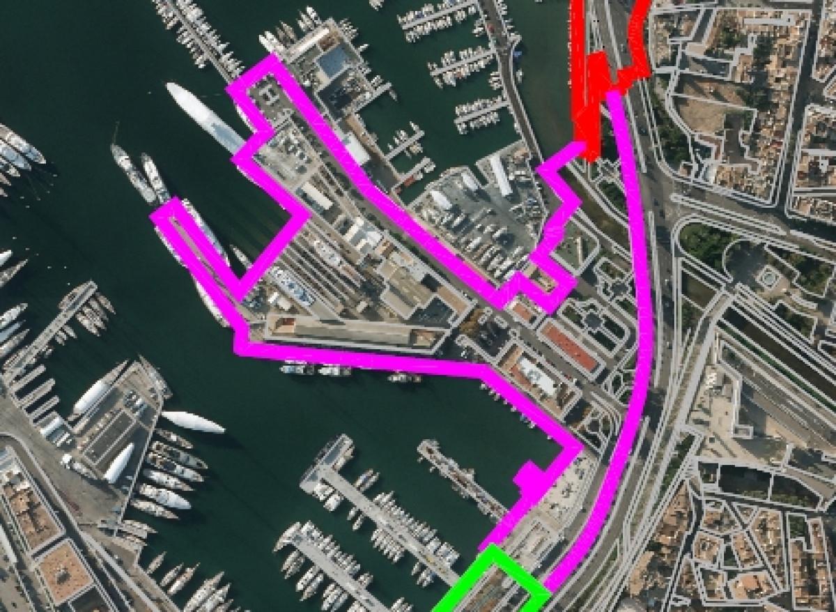 Puertos de Baleares   Contramoll Mollet
