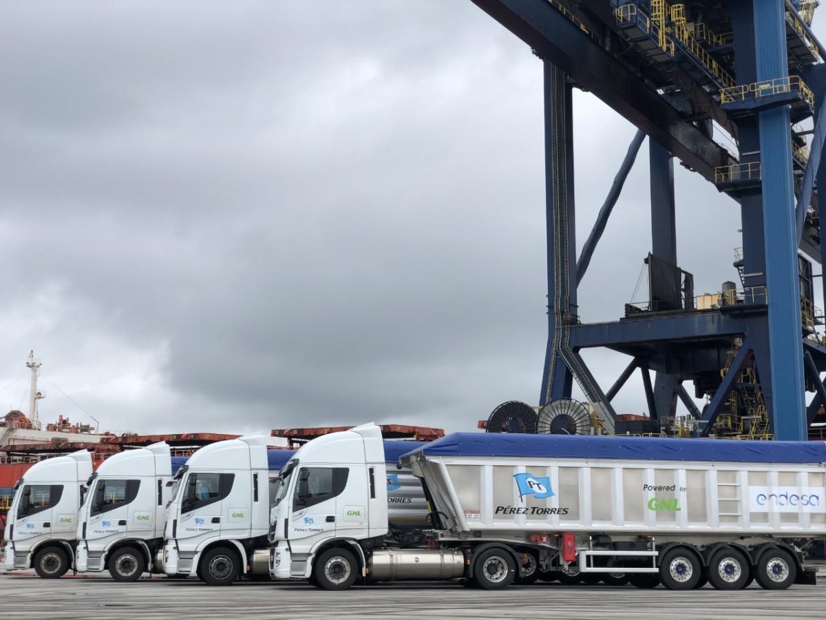 Endesa   Camiones GNL