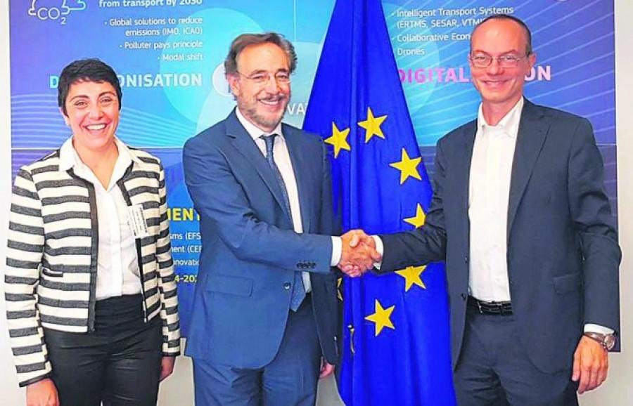 Junta de Andalucu00eda    Felipe Lu00f3pez   Representantes europeos   Corredores ferroviarios