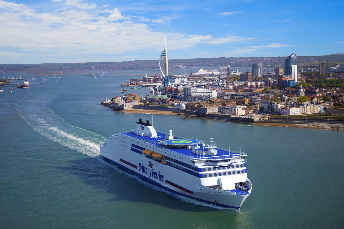 Brittany Ferries   Impresiu00f3n artu00edstica de los nuevos buques