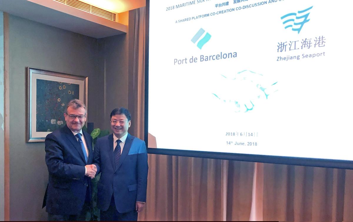 Port de Barcelona   Milu00e1   China