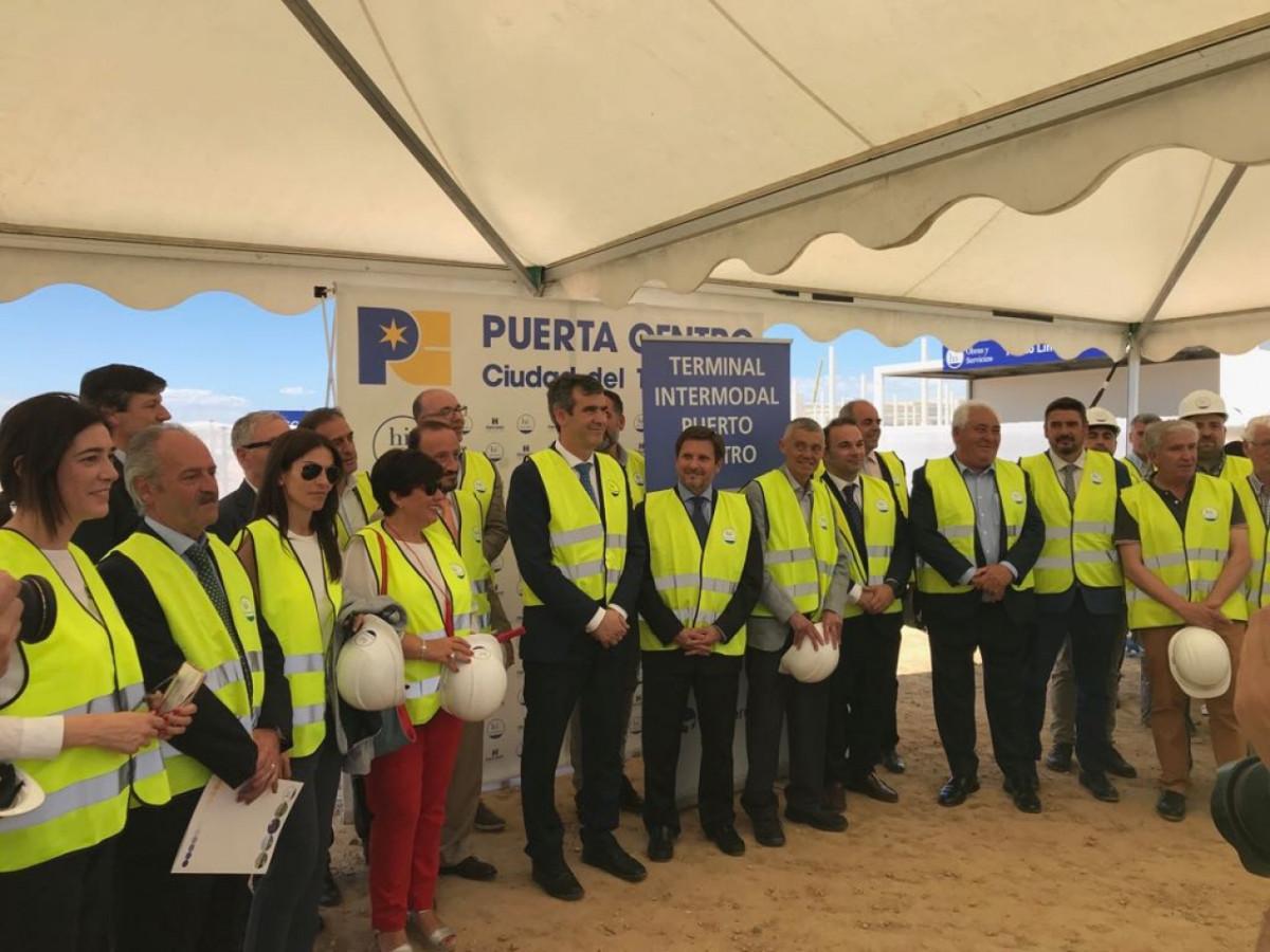 Port de Tarragona   Terminal intermodal Ciudad del Transporte Puerta Centro