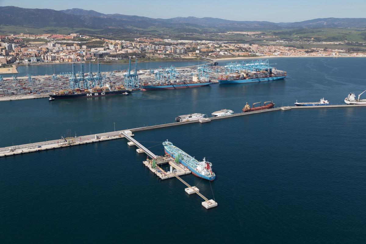 Puerto Algeciras. Terminales Vopak+Apmt