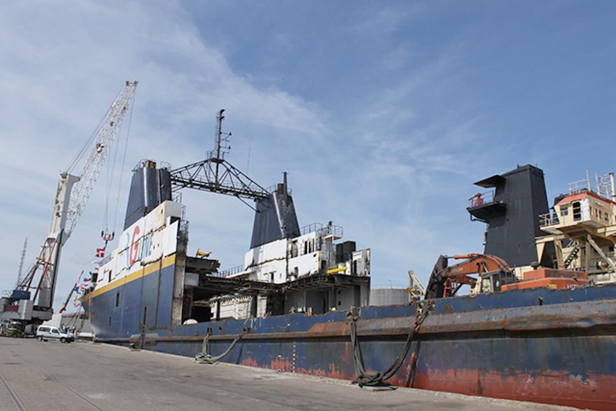 Reciclaje de buques