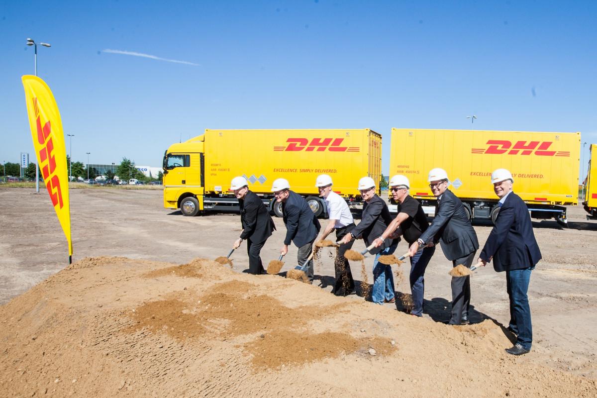 DHL Freight Groundbreaking Hannover Langenhagen1