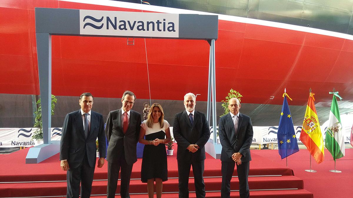 Navantia entrega segundo petrolero Suezmax ok md