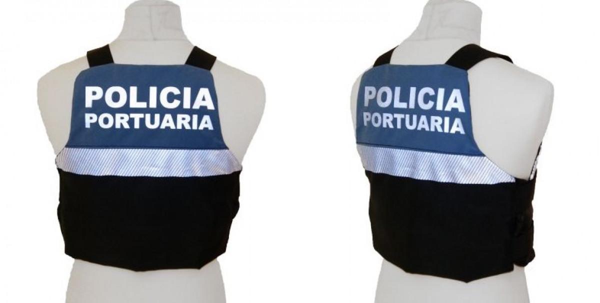 Chalecos antibalas   policu00eda portuaria