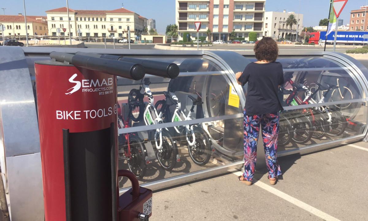 Valenciaport   Bici elu00e9ctrica cruceros