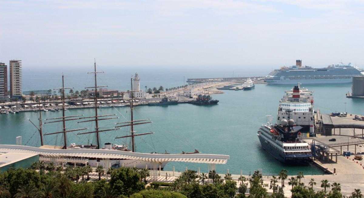 Puerto de Mu00e1laga   cruceros   yates