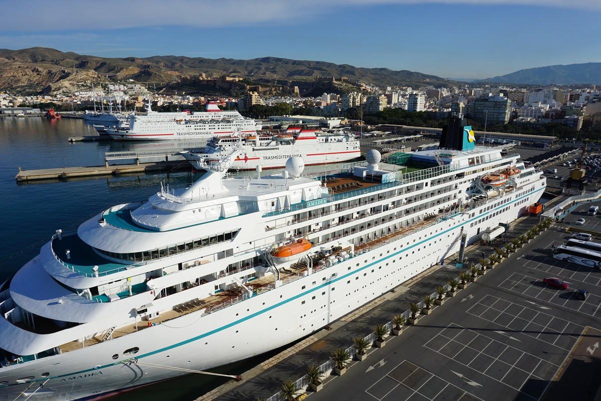 Puerto de Almeru00eda   pasaje  cruceros