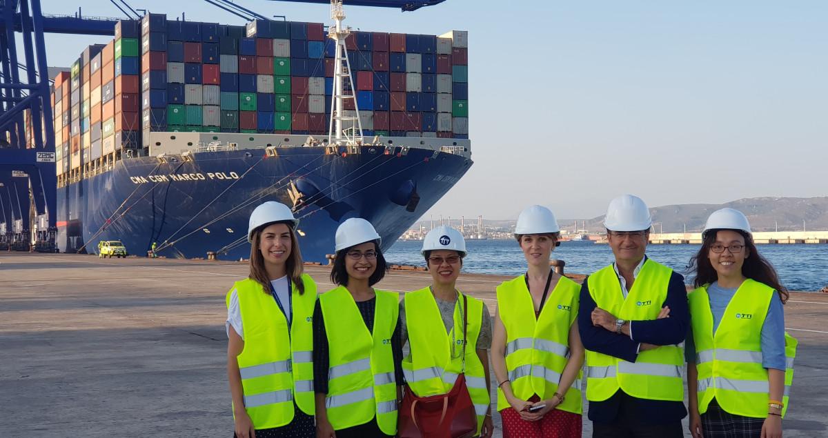Puerto de Algeciras   Visita Tailandia