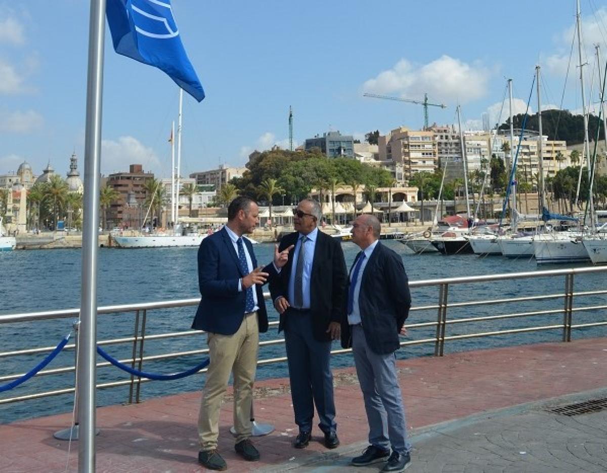 Puerto de Cartagena   Bandera azul   puerto deportivo (2)