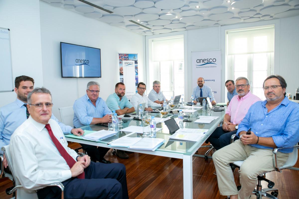 Anesco   Comitu00e9 ejecutivo Sep18