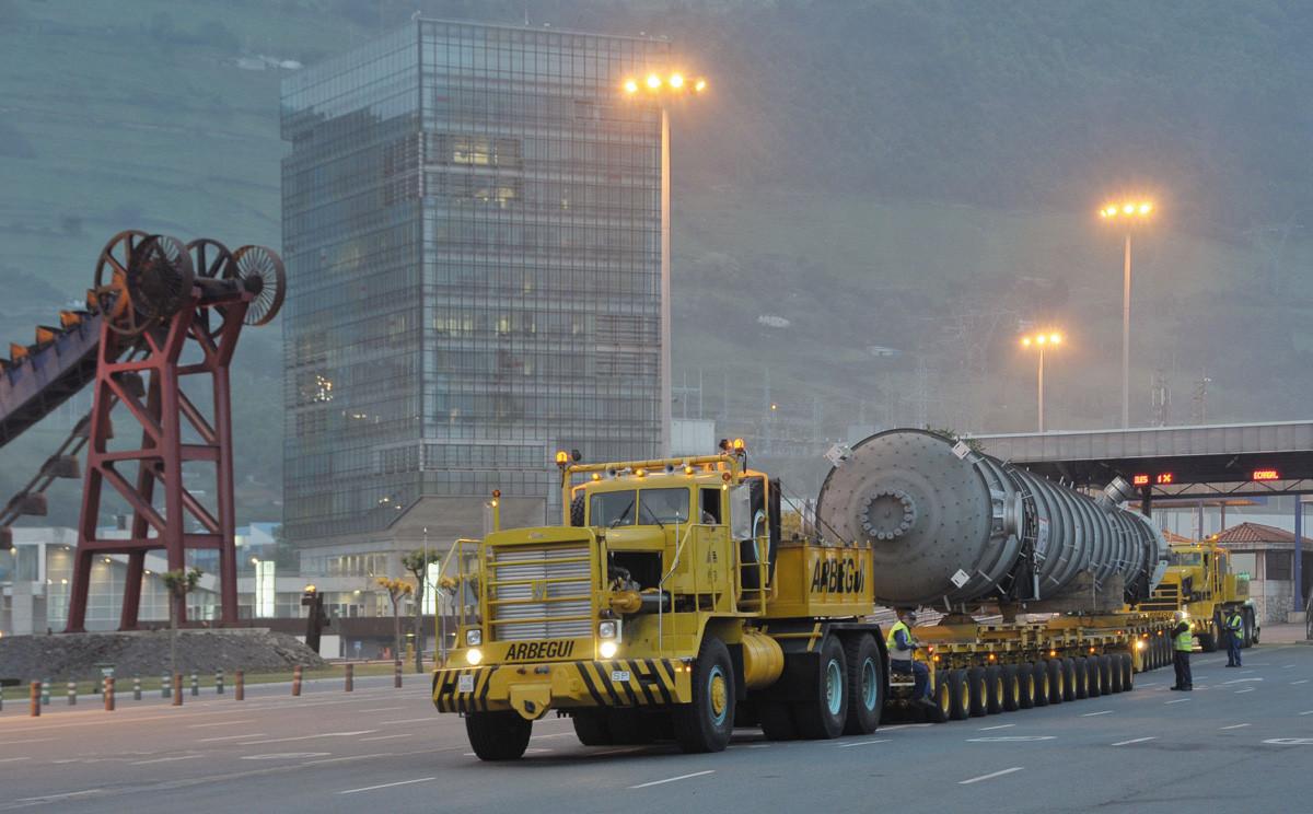 Puerto de Bilbao   Traansportes especiales