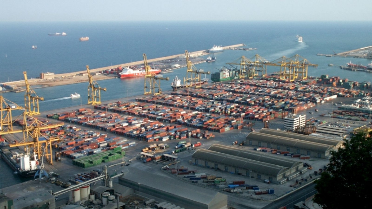 Port de Barcelona   panrámica