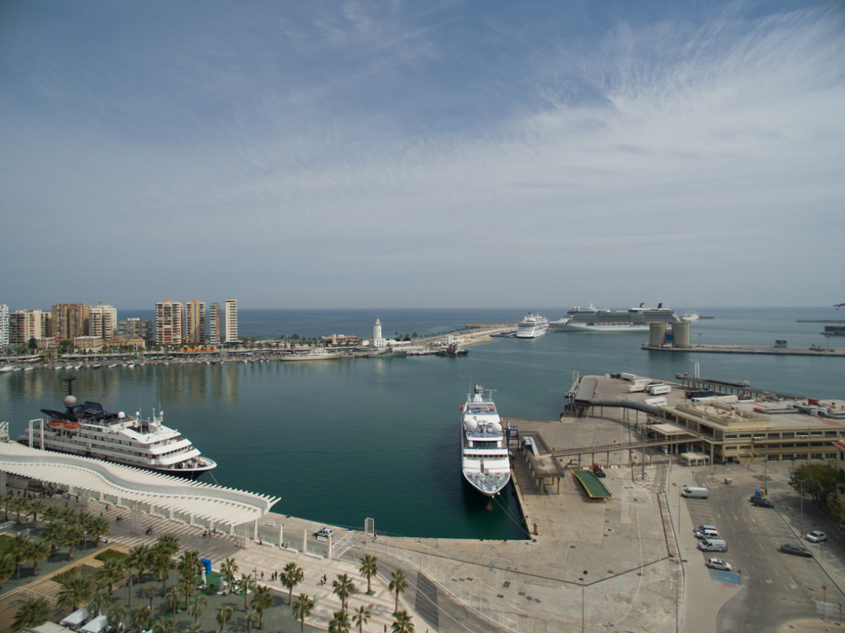 Puerto de Mu00e1laga   genu00e9rica cruceros