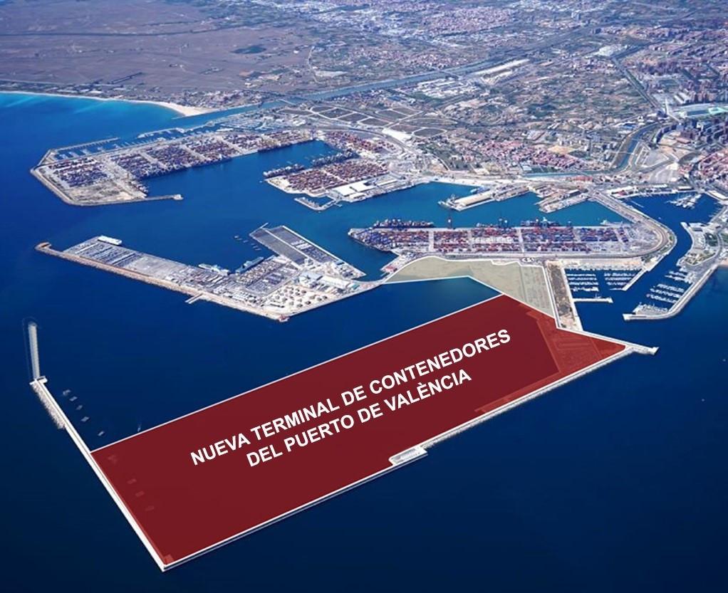 Valenciaport   Nueva terminal contenedores