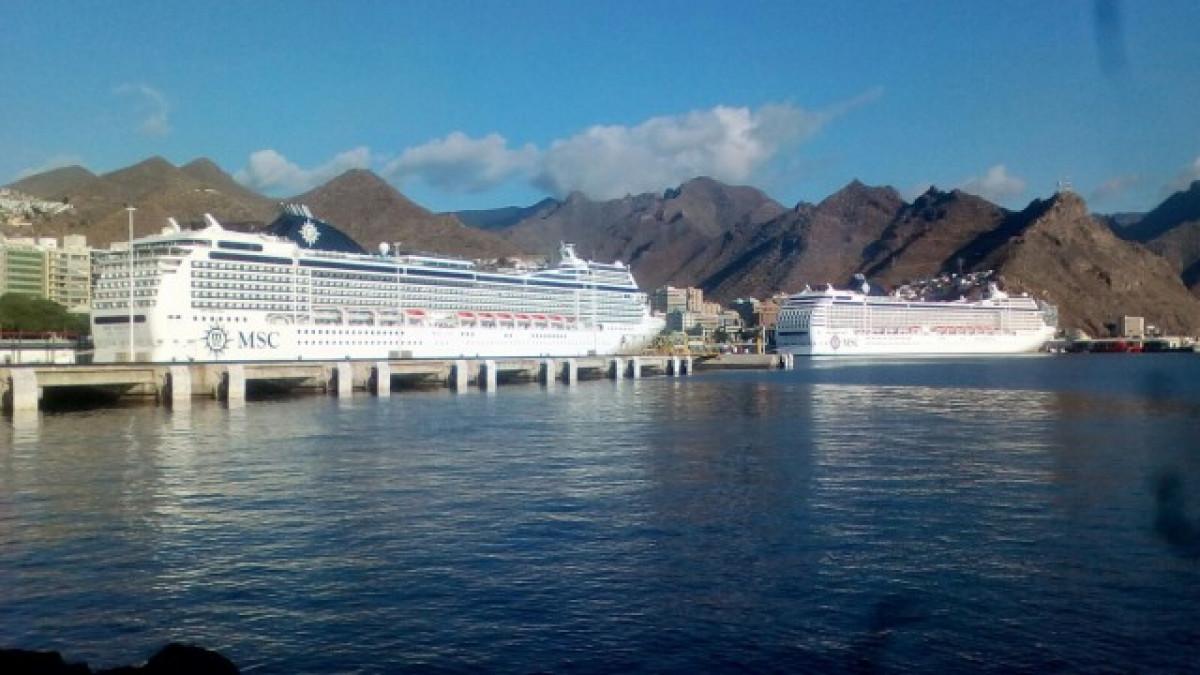 PuertosdeTenerifecincocruceros