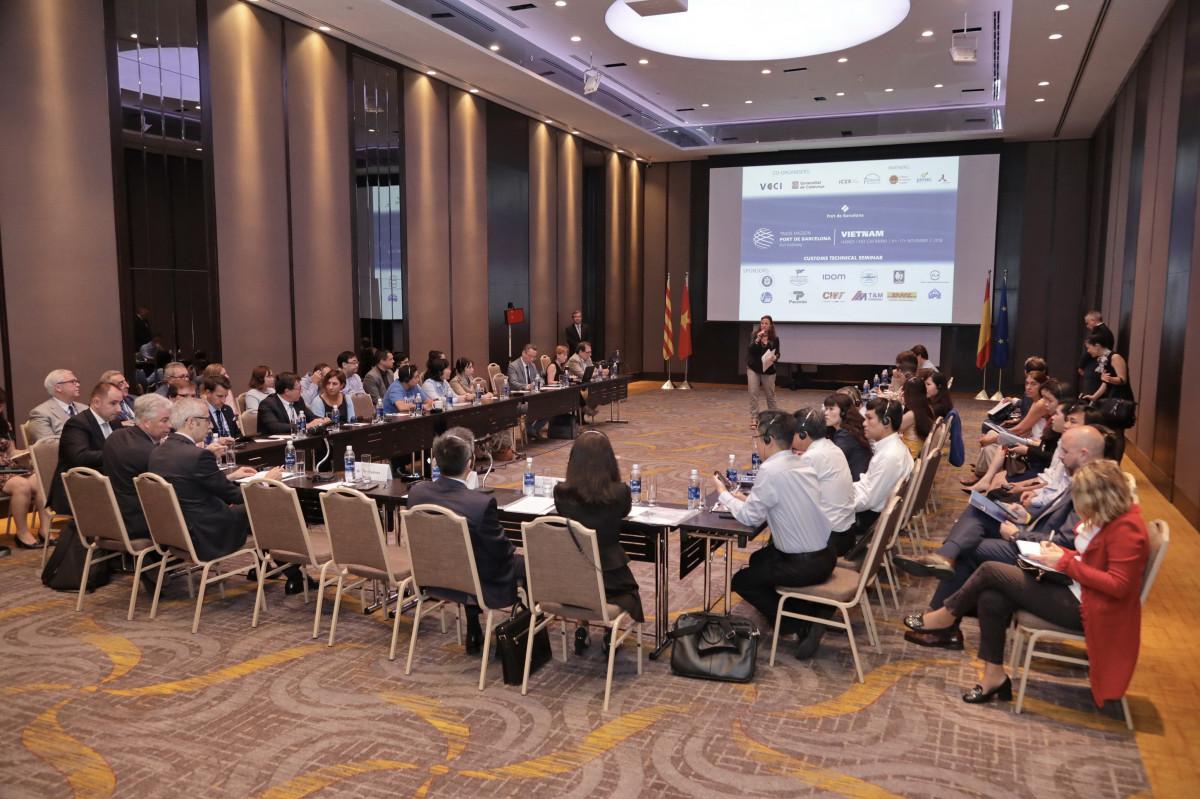 Port de Barcelona   Seminari tecnic duanes   Vietnam