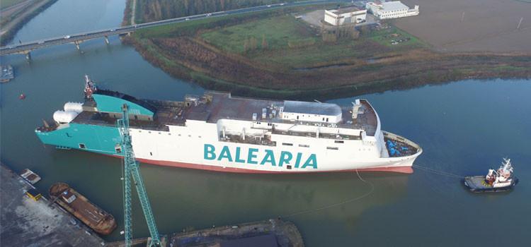 Balearia   Marie curie   en construcciu00f3n
