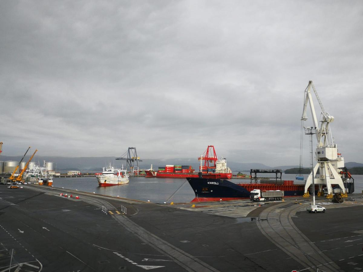 Puerto de Vilagarcía   panorámica   nov18