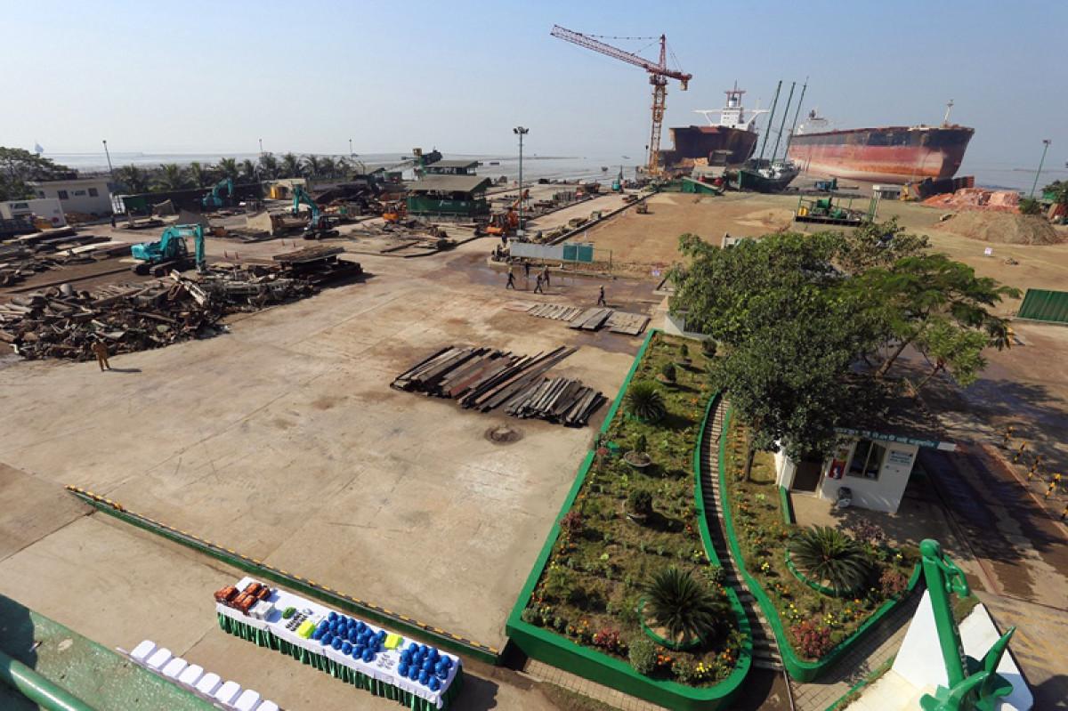 Reciclaje de Buques   SENSREC   Bangladesh