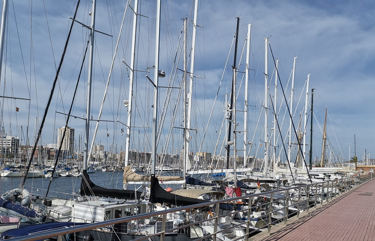 Puerto de Las Palmas   Muelle deportivo   nu00e1utica