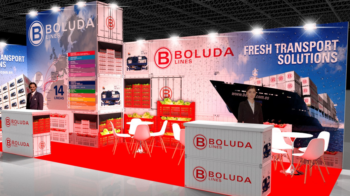 Boluda   Stand Fruit Logistica   Berlin