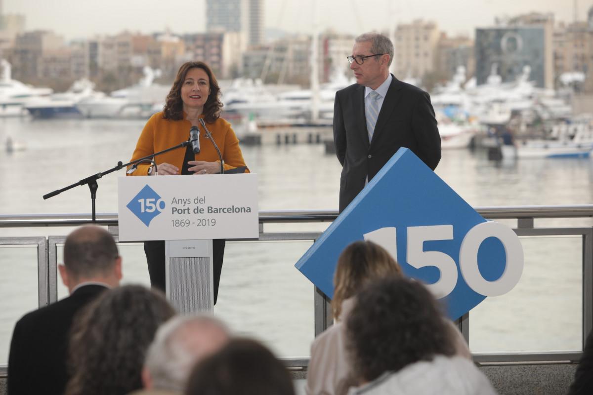 Port de Barcelona   150 aniversario