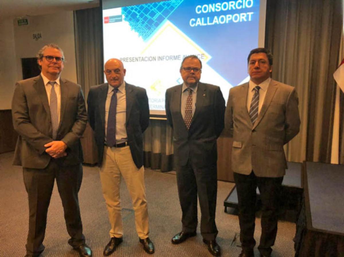 1. Carlos Gonzau011blez, Ignacio Berenguer, Arturo Monfort y Ou011bscar Medina