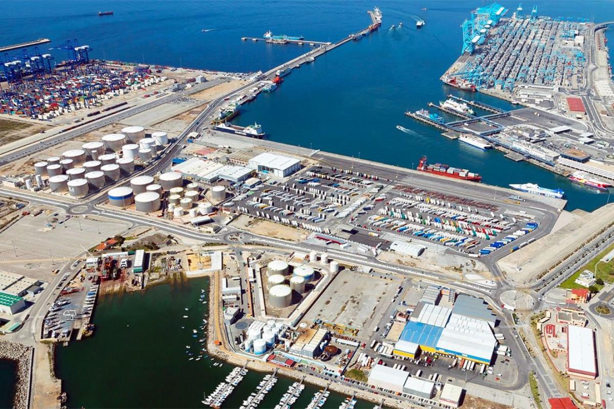 Puerto de Algeciras   panoramica dic18