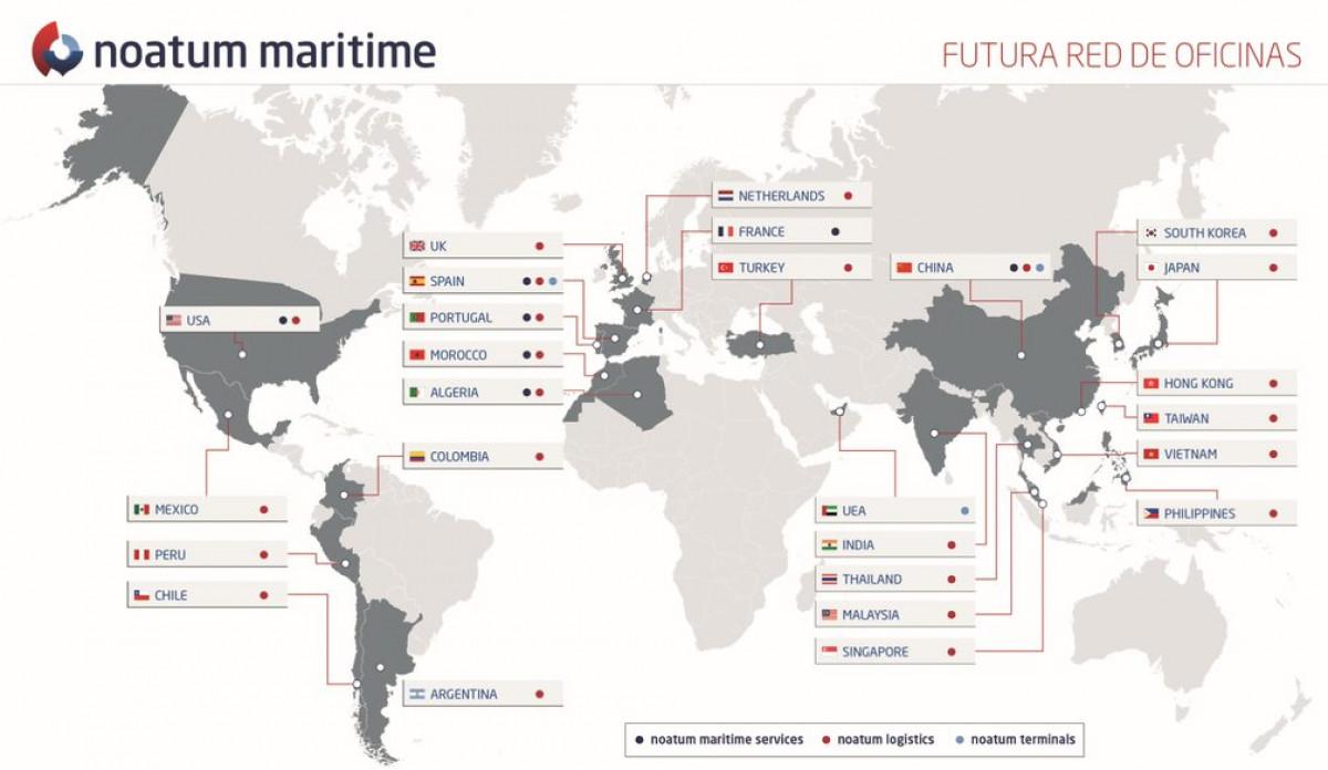 Noatum maritime   red de oficinas