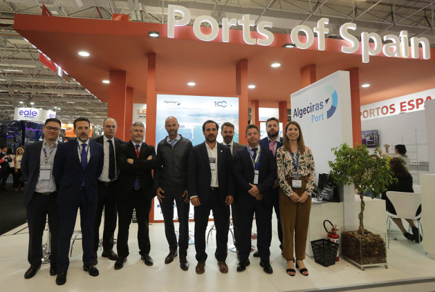 Intermodal stand Ports of Spain