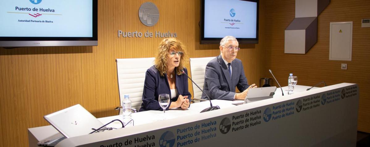 Puerto de Huelva   presidenta   primer trimestre