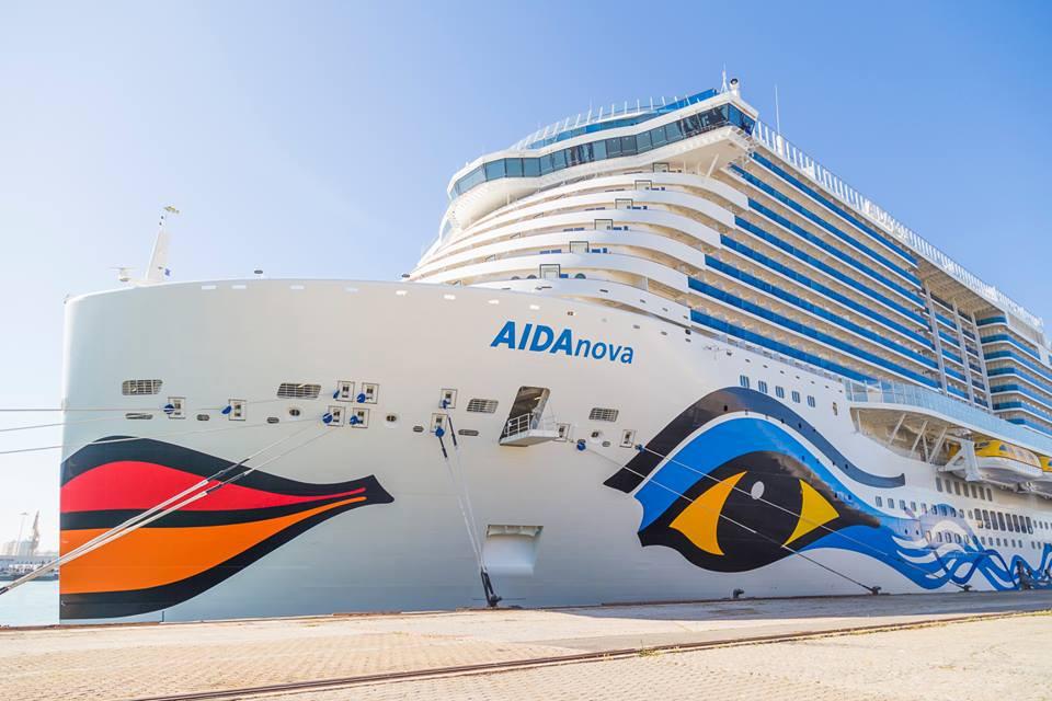 Puerto de Cu00e1diz   AIDAnova