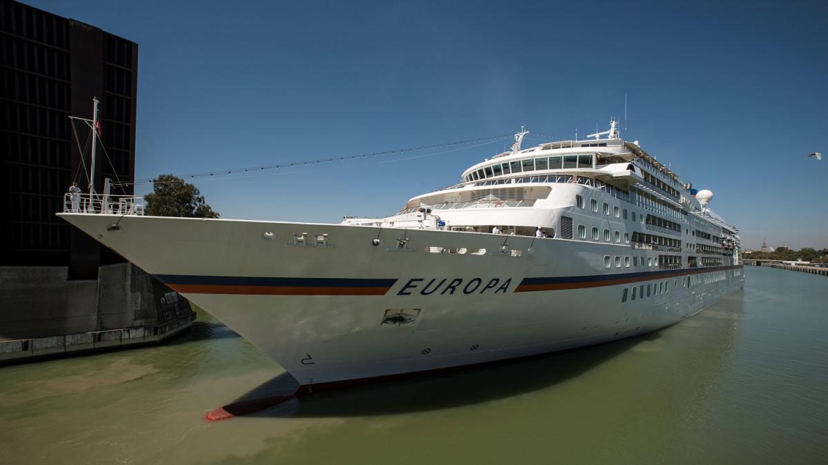 Puerto de Sevilla   Crucero   Europa