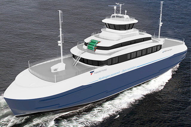 Ferry hidrogeno